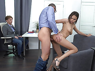 Fucked by the husband's boss